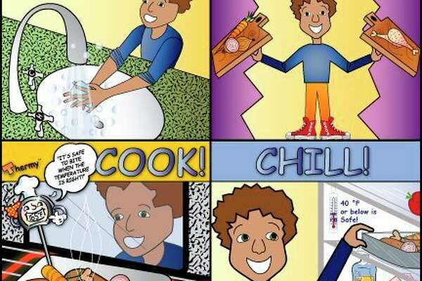 Clean, separate, cook and chill are the recommendations from the FDA and USDA. (Courtesy Image)