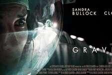 """Gravity,"" stars Sandra Bullock and George Clooney."