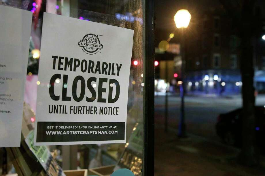 A record 3.28 million people filed for unemployment insurance last week as the coronavirus locked down business activity across the U.S. Photo: Elizabeth Robertson, MBR / TNS / The Philadelphia Inquirer