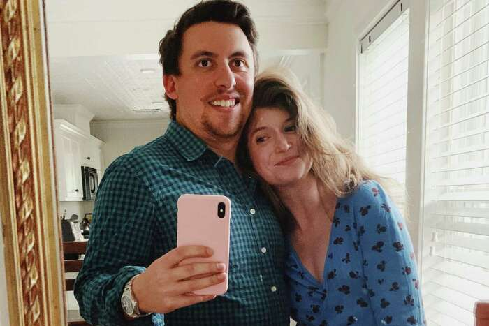 Under the stay-at-home order Houstonians are getting creative. Emily Lunstroth planned a date night at home with boyfriend Mike Hammer.