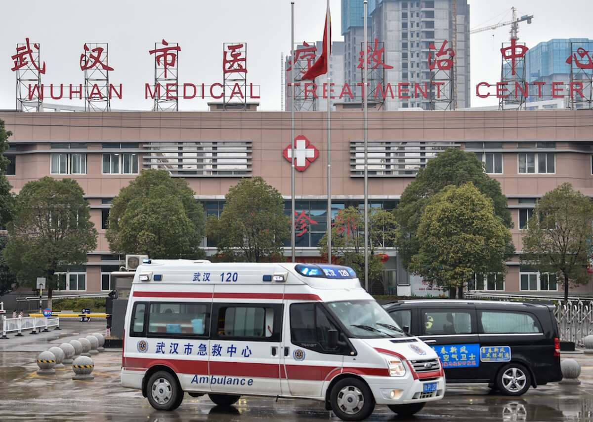 Dec. 31, 2019: Chinese health authorities notice mysterious cases of pneumonia In the meantime, the government of Wuhan did in fact confirm that its health authorities were treating dozens of cases of pneumonia from an unknown origin. Several of the infected people worked at Wuhan's Huanan Seafood Wholesale Market. Wuhan is a city of 11 million people in China's Hubei province and had become the start and center of a new epidemic. This slideshow was first published on Stacker