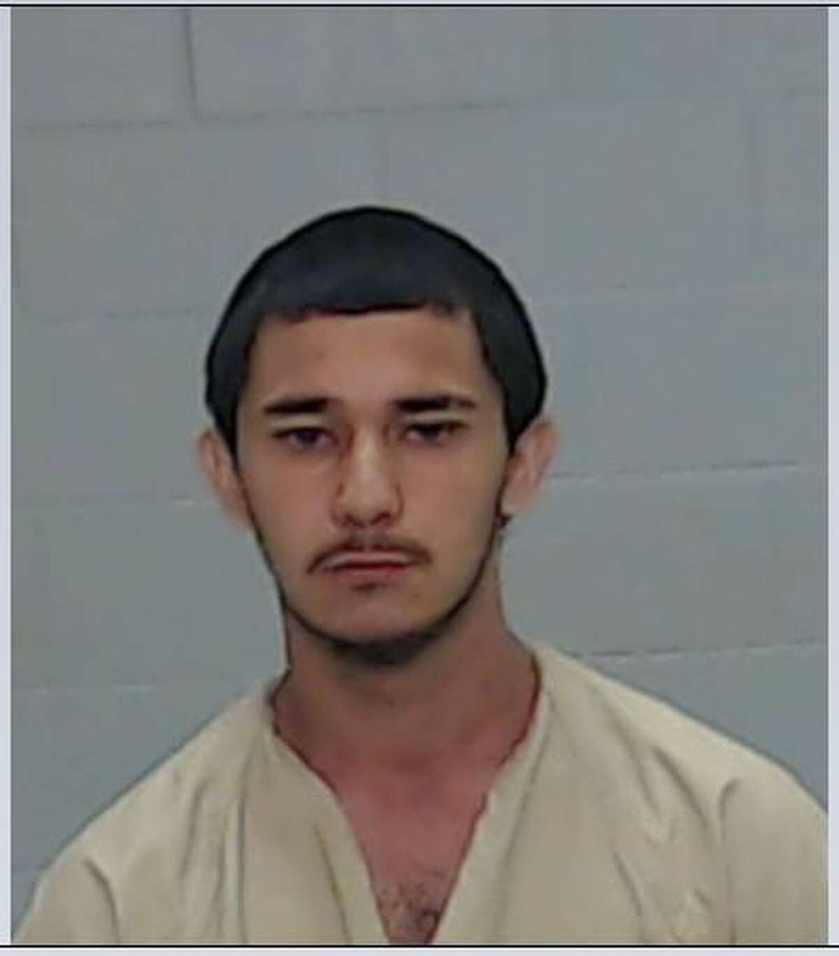 Patrick Shawn Elizondo, 18,is being held at the Ector County jail on aggravated robbery charges in connection with an armed robbery at an Odessa liquor store