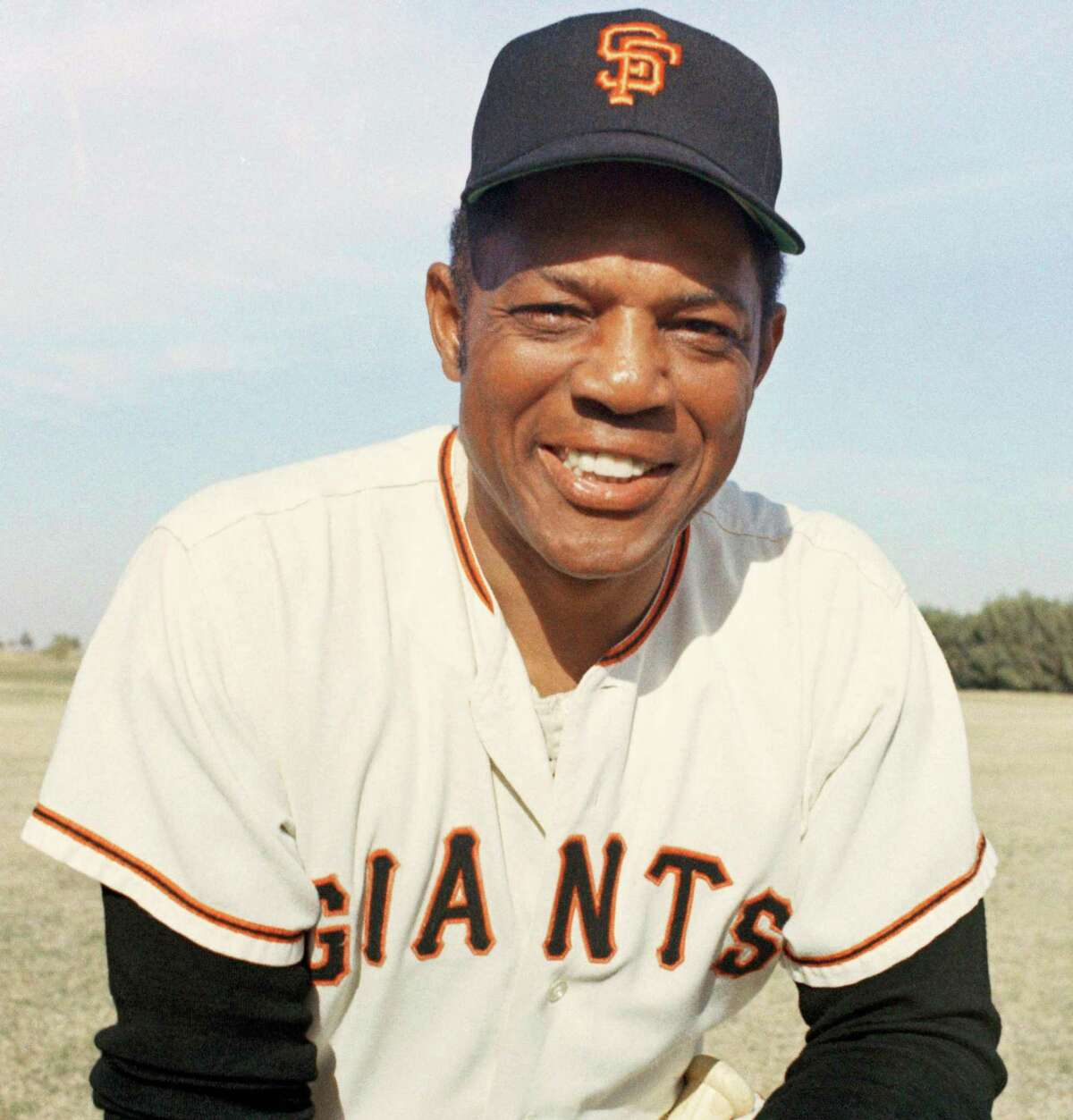 San Francisco Giants Willie Mays poses in 1967. (AP Photo)