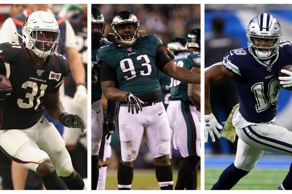 The Texans added some key pieces this offseason, including: (From left) David Johnson, Tim Jernigan and Randall Cobb.