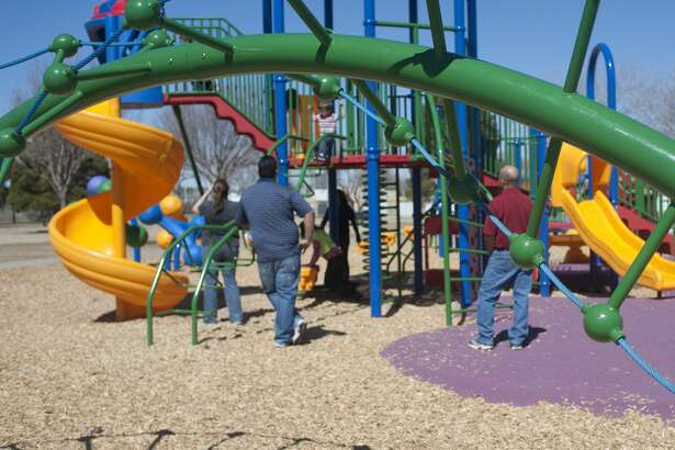 The city has temporarily closed playground structures.