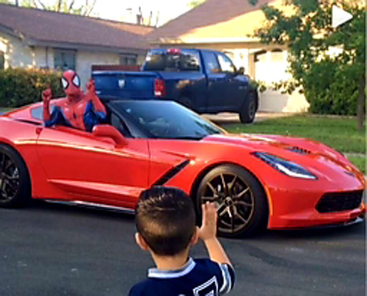 Guiteau said he can either drive-by in his corvette or truck, adding he can also dress up as Spider-Man, Iron Man and other characters if needed.