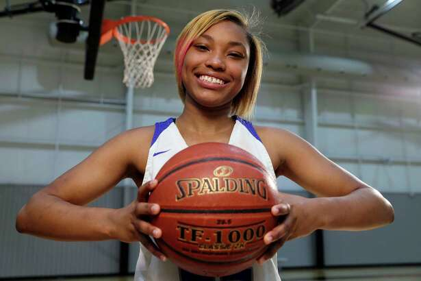 All Greater Houston girls basketball player Kyndall Hunter of Cypress Creek, at the Loutetta Auto Sports Complex Monday, Mar. 23, 2020 in Cypress, TX.