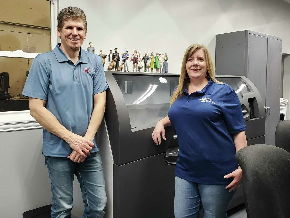 Carey and Thomas Gregg have done what many in Houston do: spending years working at various large corporations and industries before taking those skills and creating their own small business. But instead of opening a restaurant, car repair shop or cleaning service - which are among the top 10 small businesses opened in the region - they went in a different direction, and dimension: 3-D printing and scanning. Now, after five years in business as owners of Envision 3D Printing in Spring, the couple has shifted in the past six months to a new venture, 3-D scanning to create miniature figurines of people and pets.