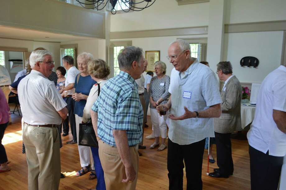 Social events, like this party put on by Stay at Home in Wilton, no longer take place during the COVID-19 pandemic. Photo: Contributed Photo / Stay At Home In Wilton / Wilton Bulletin Contributed