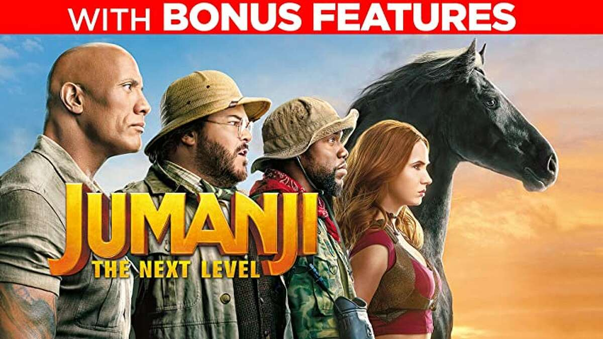 Jumanji: The Next Level, rent for $5.99 or buy for $19.99