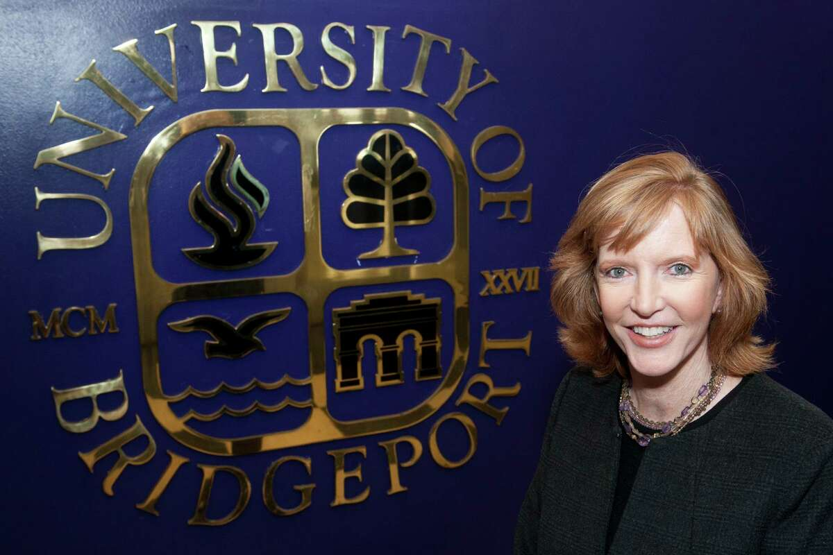 Laura Trombley, president of the University of Bridgeport, will be stepping down to take over as the president of Southwestern University.