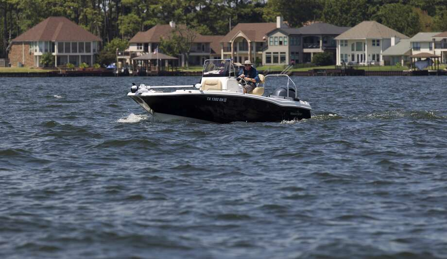 A boater enjoys Lake Conroe on Labor Day, Monday, Sept. 2, 2019, in Conroe. Photo: Jason Fochtman/Staff Photographer / Houston Chronicle
