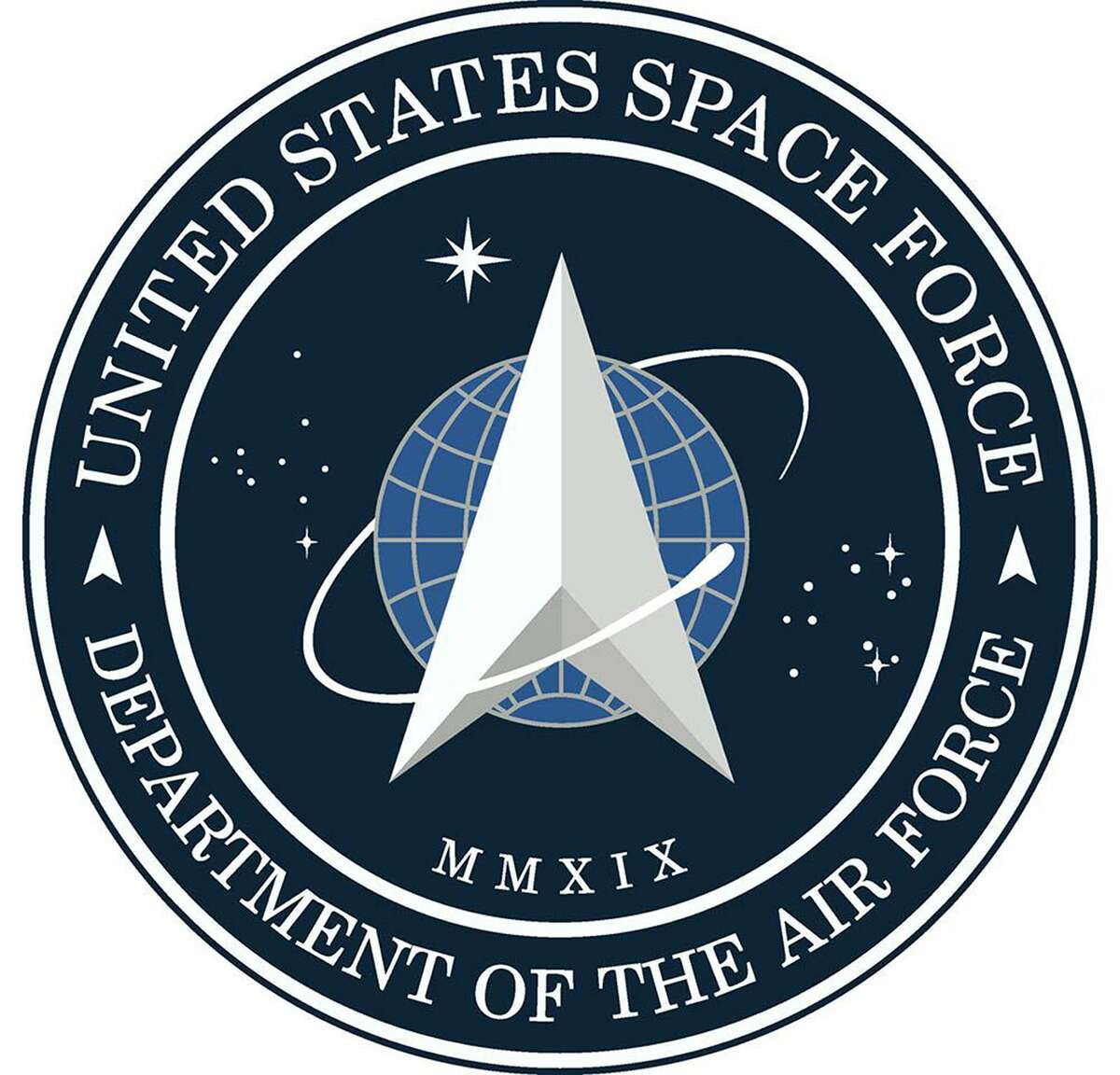 The new emblem of U.S. Space Force. (U.S. Space Force/TNS)