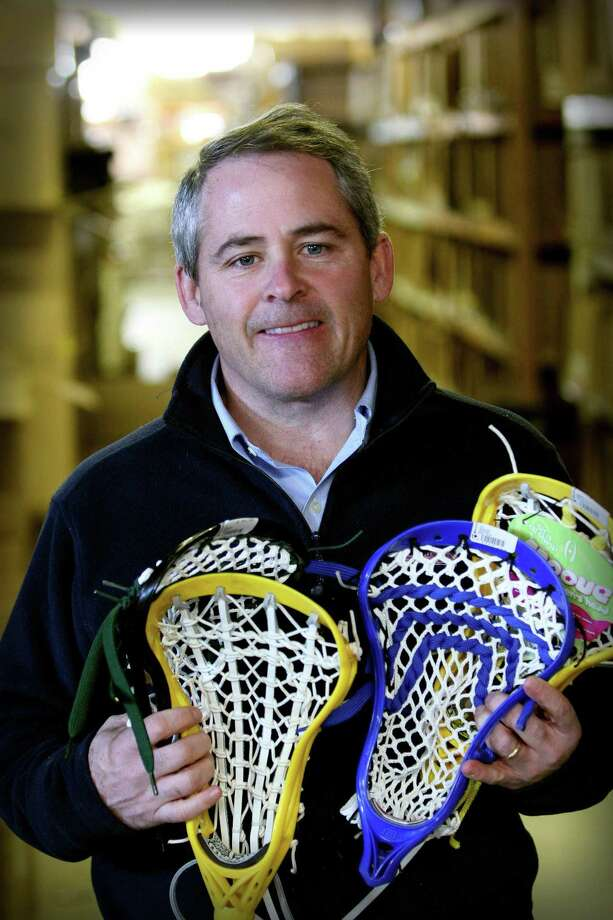 John Arrix, of Wilton, the CEO of Lax.com, was selected by the Connecticut Hammerheads as their honorary pick in the 2020 MLL draft. Photo: Contributed Photo / Stamford Advocate Contributed