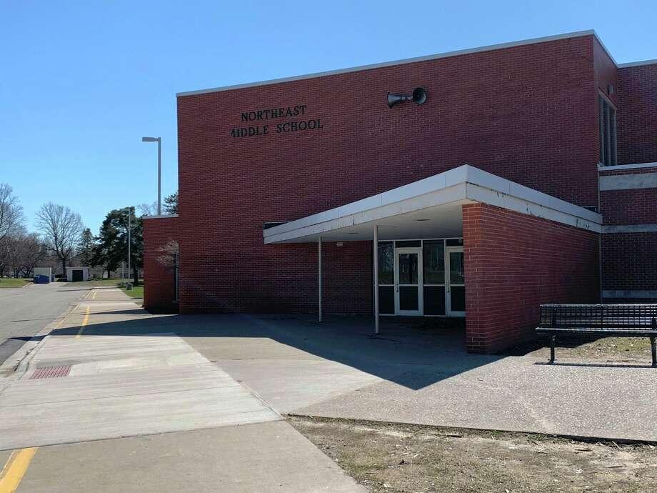 Northeast Middle School. (Fred Kelly/fred.kelly@mdn.net)