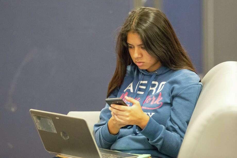 Abigail Ruiz of the Houston Texans Teen Club.