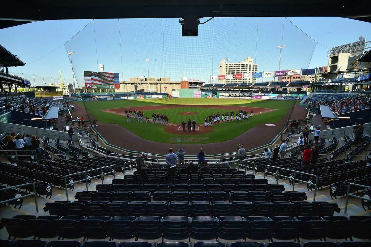 North Haven defeats Fitch, 1-0, Wednesday, June 7, 2017, in the Class L semifinal game at Dunkin Donuts Park in Hartford. Number 7 North Haven will take on #32 Foran for the class L championship title, June 10, 2017 at 7pm at @Palmer Field in Middletown.