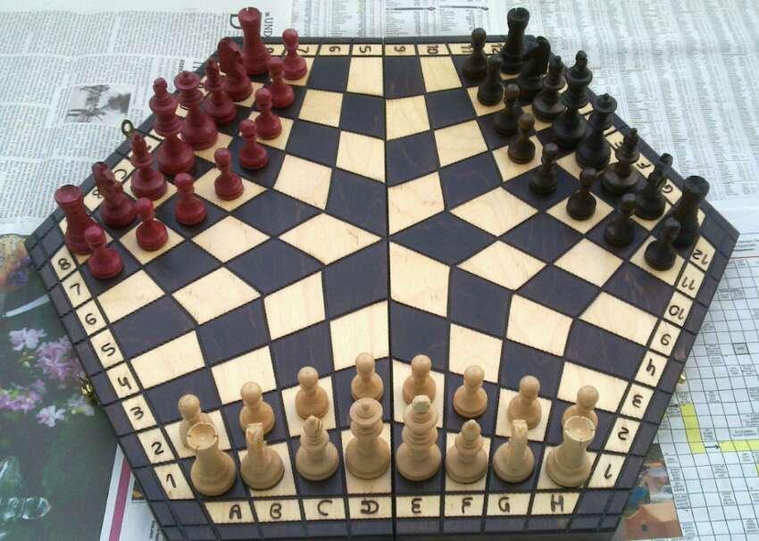 1930: Sannin shogi Essentially a