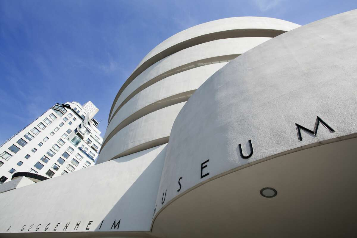 The Guggenheim Take a Google Street View tour through New York's iconic Solomon R. Guggenheim Museum. This virtual tour provides access throughout the museum, while the Guggenheim YouTube page offers tours of past exhibits, guided architecture tours and other recorded art talks. Or watch one of the museum's artist profile videos of recent exhibitors. For even more art inspiration, the Guggenheim Digital Guide is available in the Apple App Store or in the Google Play Store and provides audio guides on exhibitions.