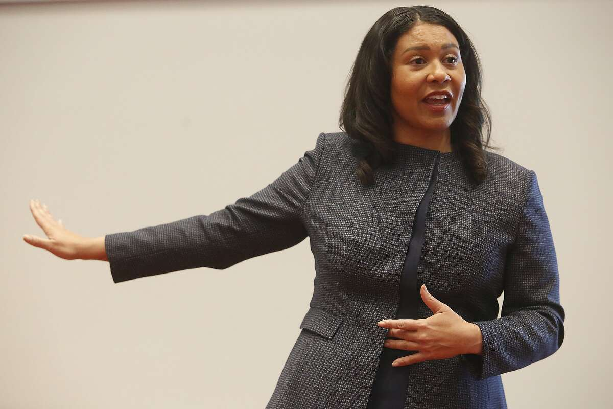 """Mayor London Breed warned that closing the upcoming deficit will require """"tough choices."""""""
