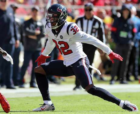 At 6-2, 213 pounds, Lonnie Johnson Jr. is the biggest cornerback on the Texans' roster.