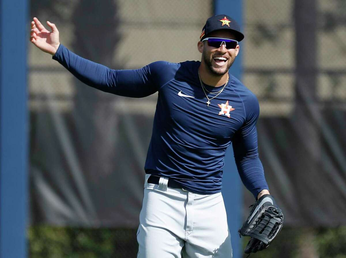 If he doesn't sign a contract extension, the Astros' George Springer figures to be one of the two most attractive position players in next winter's free-agent class, alongside fellow outfielder Mookie Betts.