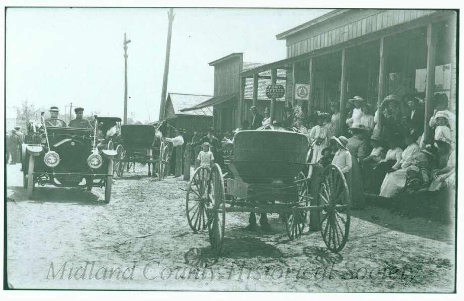 Edenville Main Street (Midland County Historical Society)