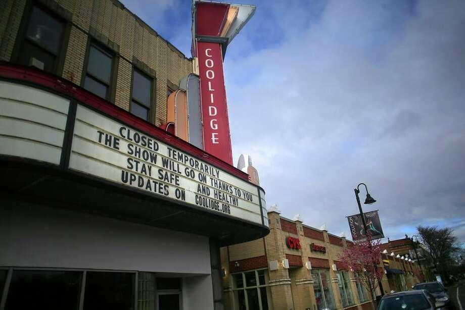 Movie theaters have shut down due to the coronavirus. Photo: Photo By Lane Turner/The Boston Globe Via Getty Images