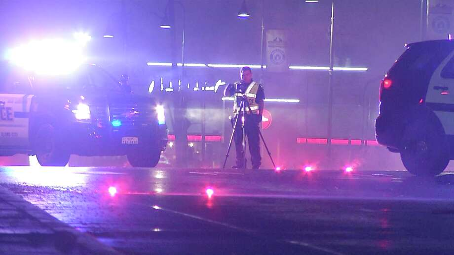 A woman is dead after a hit-and-run on the South Side late Thursday night, San Antonio police said. Photo: Ken Branca