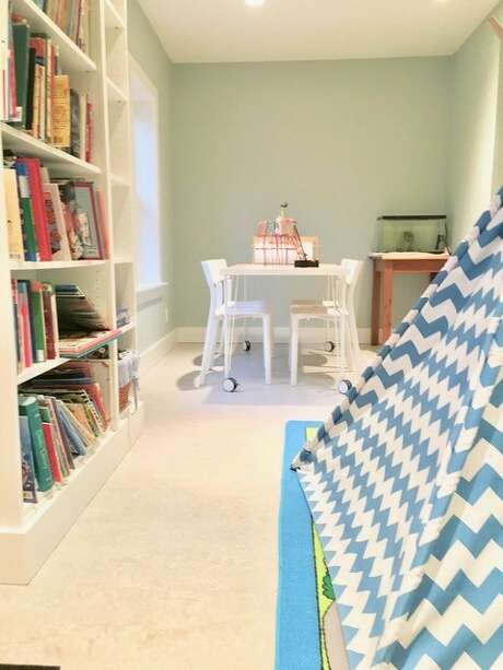 Sara Eizen suggests an option for a home office set-up. Photo: Sara Eizen