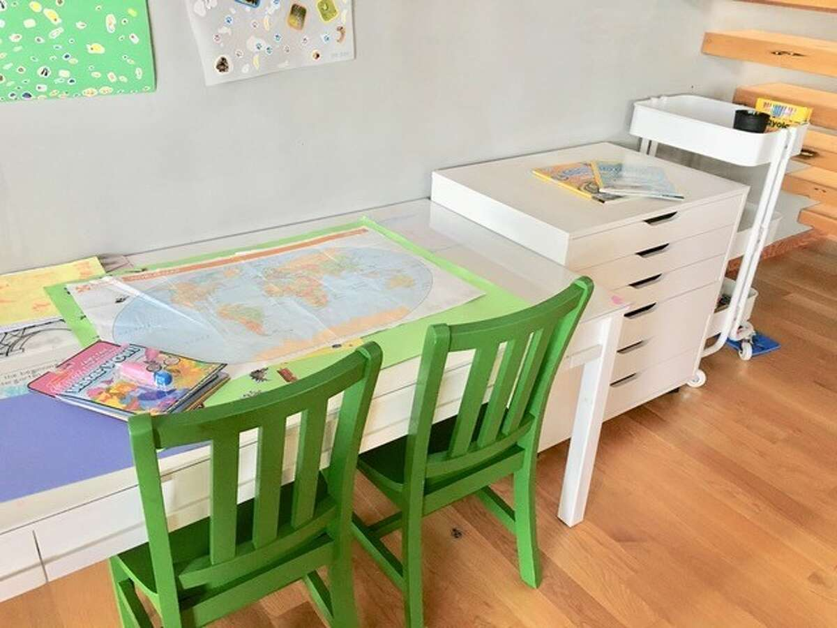 Sara Eizen suggests an option for a home office set-up.