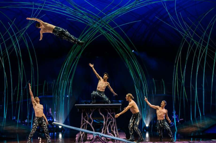 A 60-minute Cirque du Soleil special will be available online Friday, Apirl 3, 2020. Photo: Cirque Du Soleil