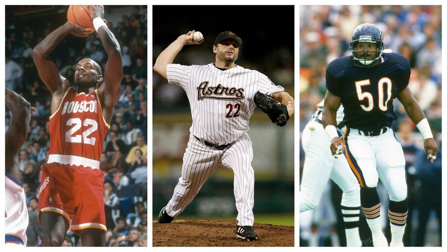 PHOTOS: Who's the best professional athlete who went to your Houston area high school? Clyde Drexler (Sterling High School), Roger Clemens (Spring Woods High School) and Mike Singletary (Worthing High School) represent some of the best professional athletes to ever come out of Houston area high schools. Browse through the photos above to see the best professional athlete to come from your Houston area high school ... Photo: Getty Images