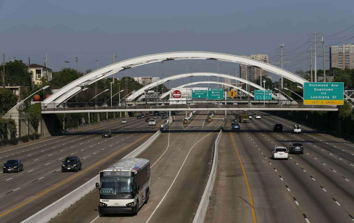 File: Traffic on Interstate 69 Freeway