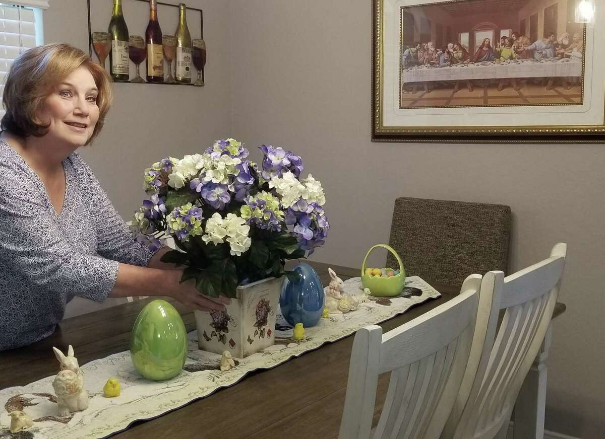 Social distancing recommendations related to the novel coronavirus mean Dickinson resident Kathy Pero and her husband Mike will celebrate Easter at home. She recently live-streamed a service from the Co-Cathedral of the Sacred Heart in Houston.