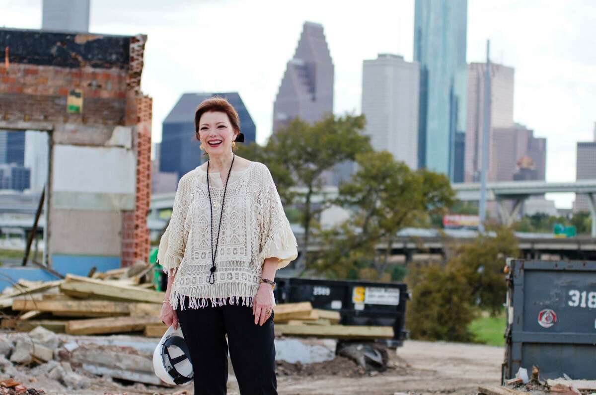 Angela Blanchard, one of Houston's leading experts on disaster response, is pictured.