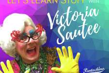 "Milford's Pantochino Productions has begun an online series called ""Let's Learn Stuff,"" with Victoria Sautee."