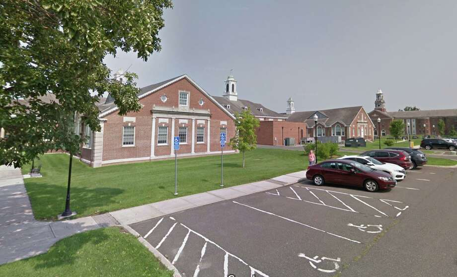 The Municipal Center at 3 Primrose Street in Newtown, Conn. Photo: Google Maps / Google
