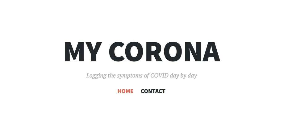 Daniel Coonan's journal, called 'My Corona,' documents his journey with the coronavirus since he started with symptoms on March 29. Photo: Contributed