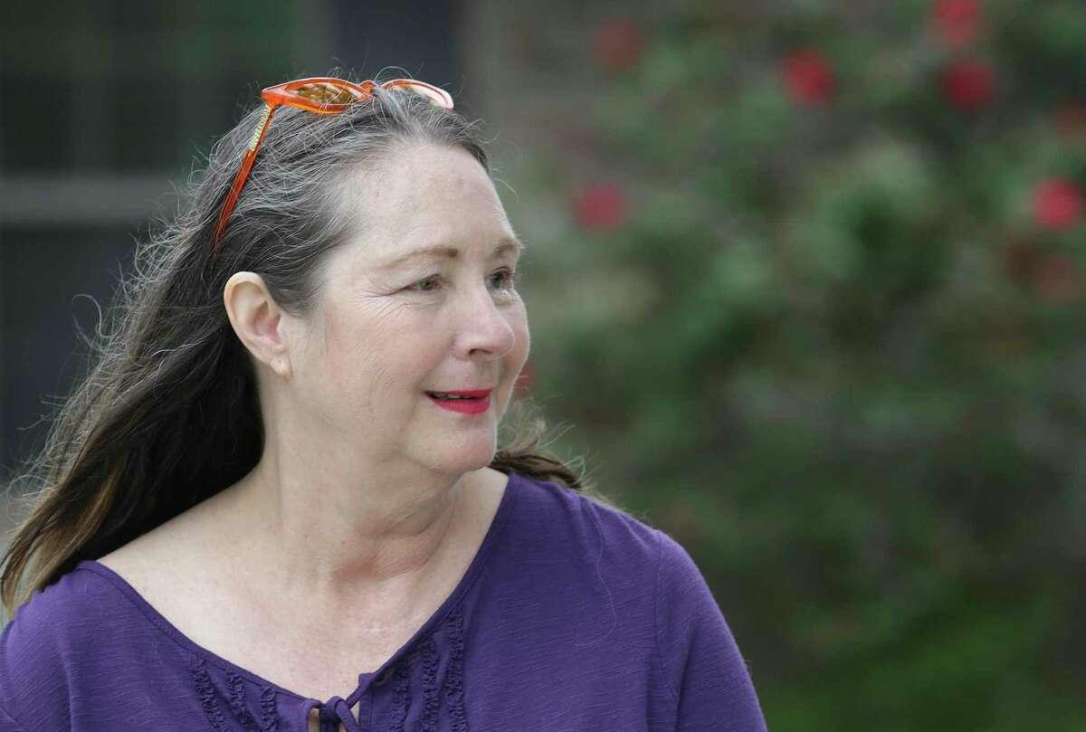 Linda Purcell regularly visits her mother at The Heights on Huebner nursing home.