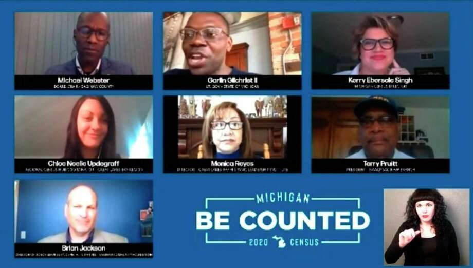 "State and regional leaders gathered virtually Thursday in a 2020 Census ""Be Counted"" Digital Town Hall to talk about the importance of the Census and efforts being conducted regionally to make sure every Michigan resident is counted. (Facebook Photo)"