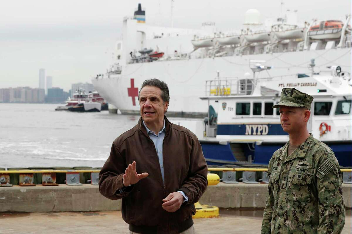 """New York Gov. Andrew Cuomo, left, recently said the fight against COVID-19 is """"a war we've never dealt with before."""" That means your orders are to stay at home, soldier. But how to get through this tour of duty? Start building a routine, and setting reasonable goals."""