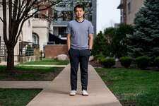 Michael Chen, co-founder and CEO of WanderJuant, in St. Louis, March 27, 2020. Start-ups like WanderJaunt have always been risky, designed to grow fast or die, but the coronavirus pandemic is turbocharging Silicon Valley�s natural selection and causing a shake-up so sudden it has defied comparison. (Whitney Curtis/The New York Times)
