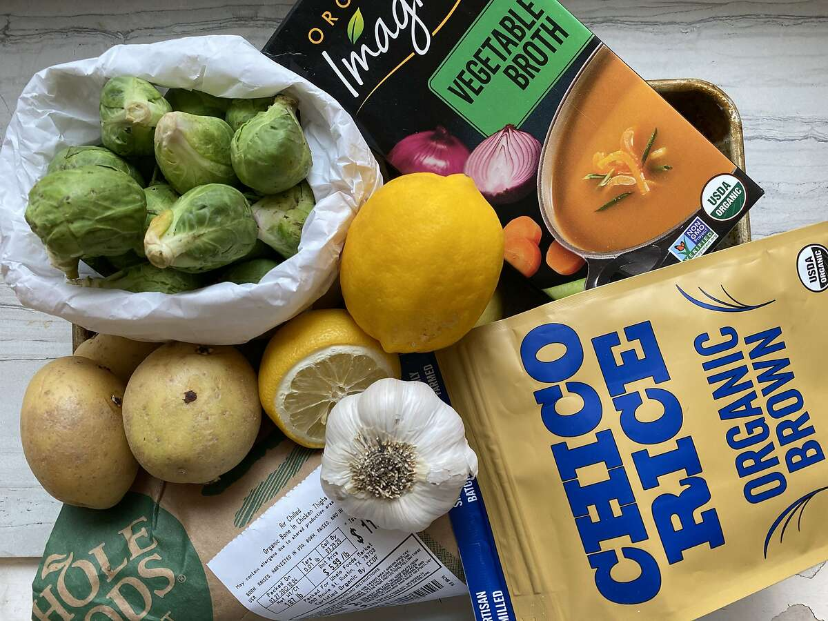 Since shelter in place, San Francisco resident Alyssa Lee started polling her friends on Instagram to determine what she should cook each night with ingredients she has on hand. These ingredients would form a Greek-inspired chicken and rice dish.