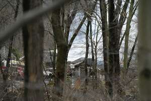 A home on Lower Cross Road in the backcountry of Greenwich, Conn., burned to the ground March 19. The cause has not been determined.