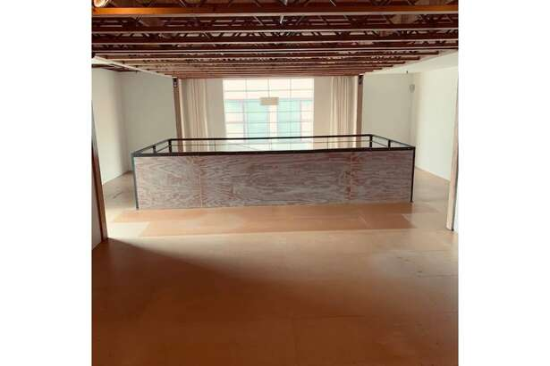 This three-level artist loft is for rent in SOMA.