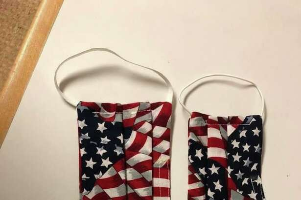"A ""Made In America"" version of the homemade masks being produced by volunteers in Roxbury."