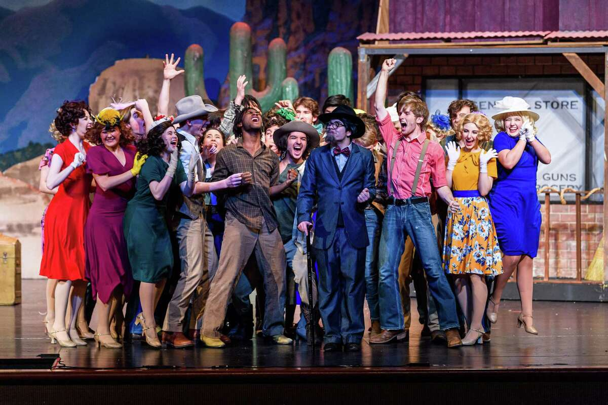 Houston Christian is nominated for 11 Tommy Tune Awards including direction, ensemble and choreography.