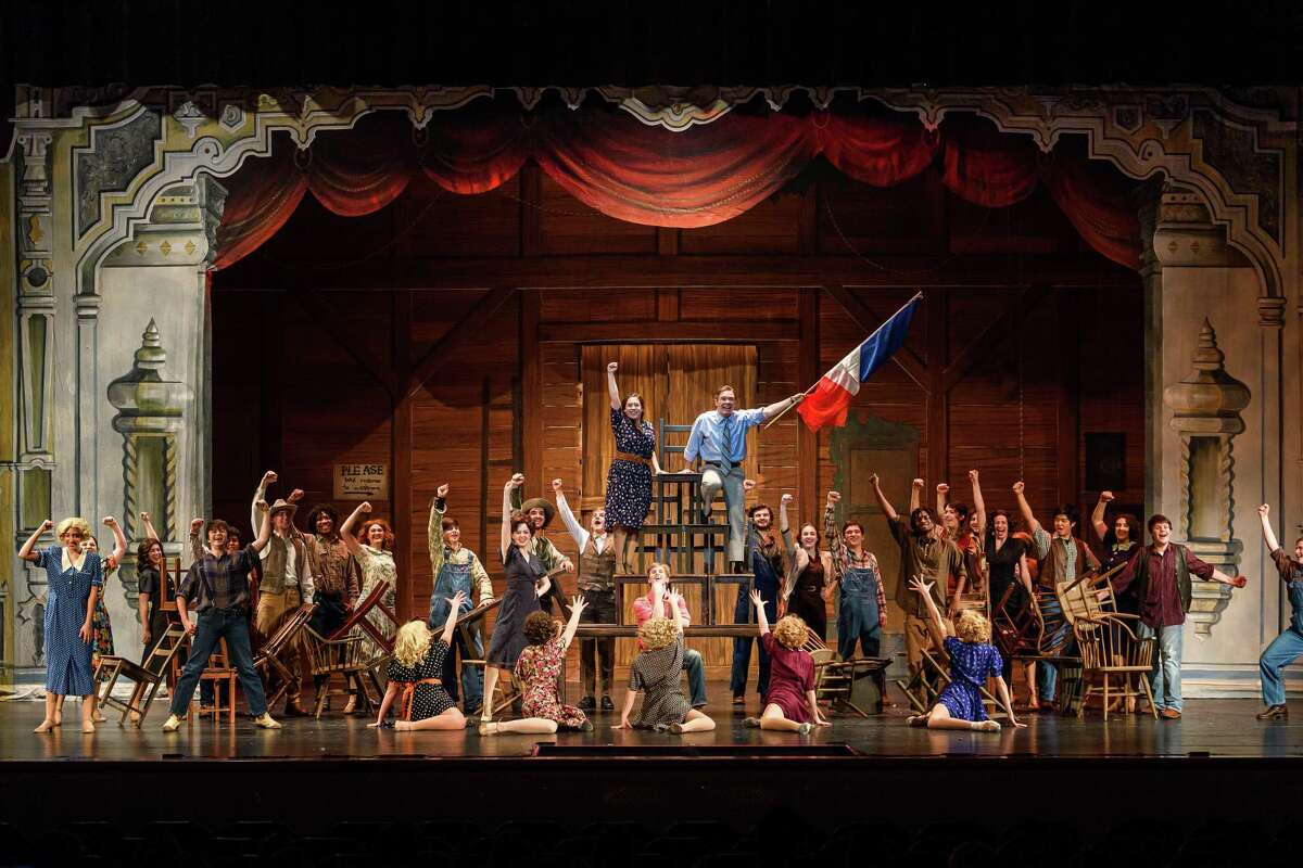 Houston Christian is nominated for 11 Tommy Tune Awards including best musical and scenic design.