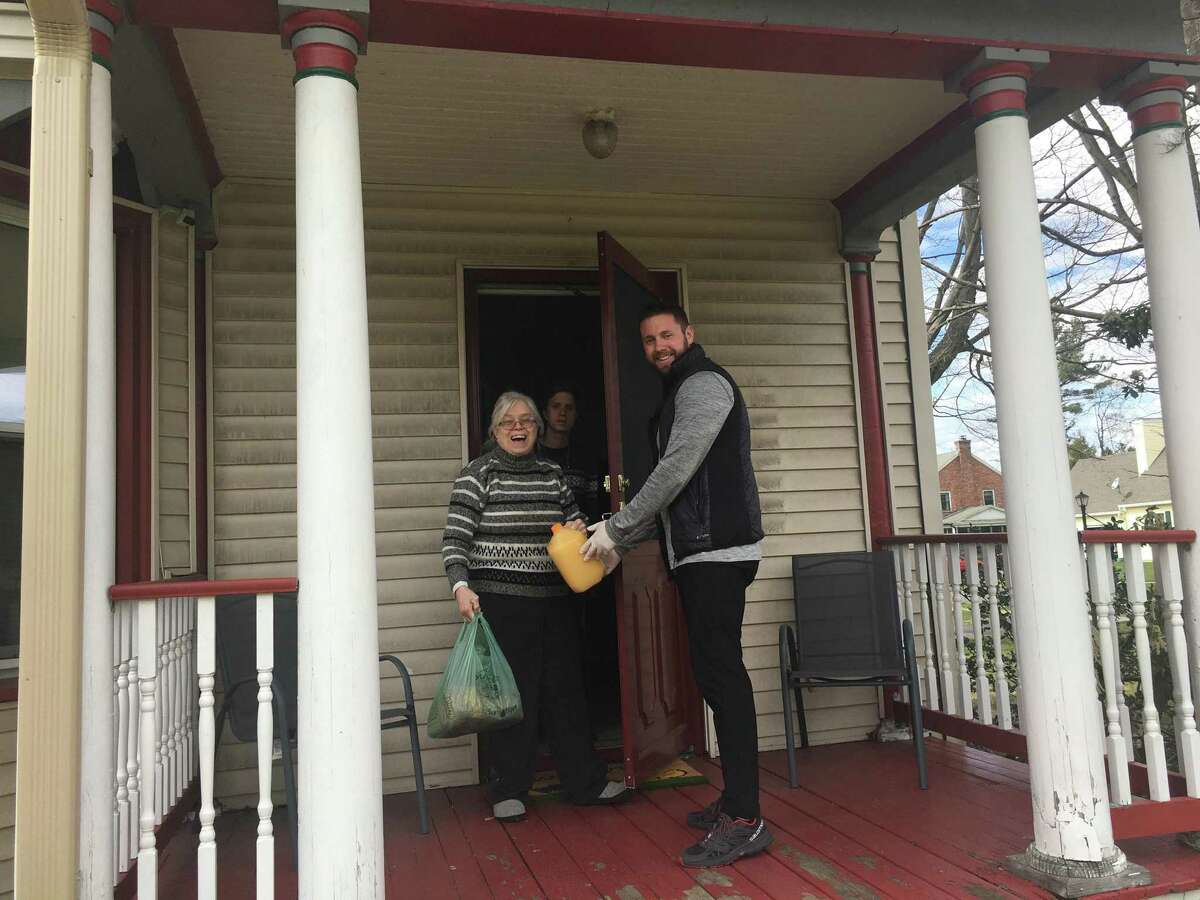 Shopping Angels uses volunteers to provide shopping and delivery services for those who either cannot or should not venture out of their homes, even for groceries and other necessities.